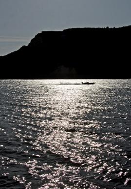 High desert reservoir Lake Billy Chinook near Madras, Oregon