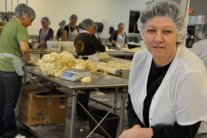 Marlene Gunderson-Teuscher manages the pie operation at Willamette Valley Fruit Company in Salem.
