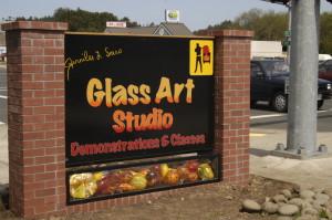 Glass Art Studio in Lincoln City