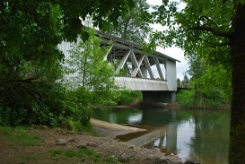 Larwood Bridge spanning Crabtree Creek