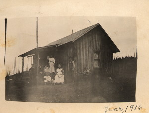 Grandparents house in 1916, a year after Grandpa Kellar built it ; photo courtesy of Kellar family,