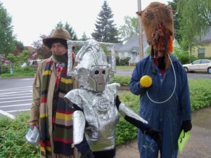 a dr who and cybermen kid won best kids costume 2
