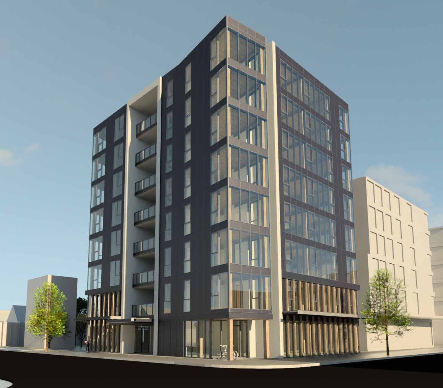 Portland Constructs First All Wood High Rise Building